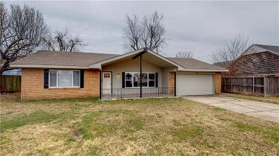 Oklahoma City OK Single Family Home For Sale: $187,000
