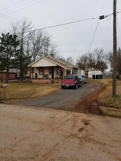 Oklahoma City OK Single Family Home For Sale: $49,500