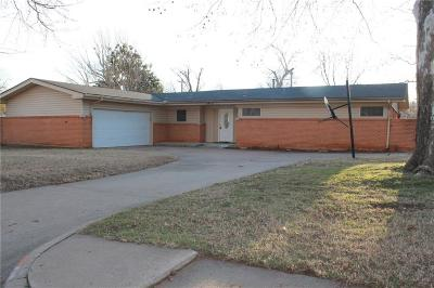 Midwest City Single Family Home For Sale: 3412 Shadybrook Drive