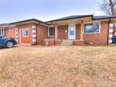 Oklahoma City OK Single Family Home For Sale: $104,900