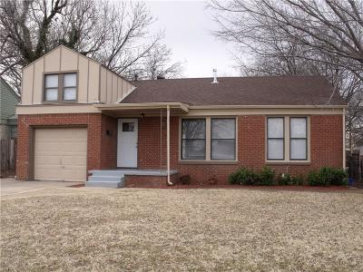 Oklahoma City Single Family Home For Sale: 3225 NW 44th