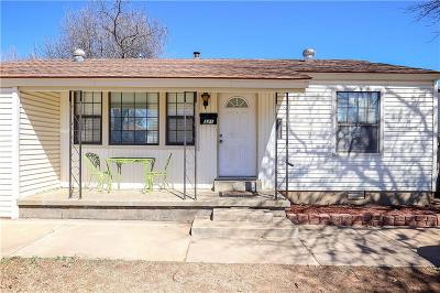 Midwest City Single Family Home For Sale: 321 Elm Street