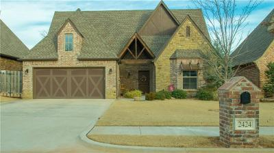 Edmond Single Family Home For Sale: 2424 Riven Rock Road