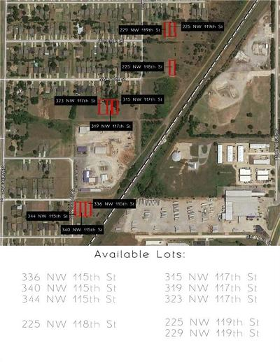 Oklahoma City Residential Lots & Land For Sale: 344 NW 115th Street