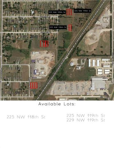 Oklahoma City Residential Lots & Land For Sale: 225 NW 118th Street