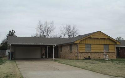 Oklahoma City Single Family Home For Sale: 2509 63rd