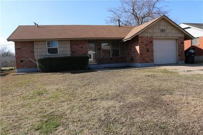Single Family Home For Sale: 117 S Dillon