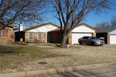 Oklahoma City Single Family Home For Sale: 721 NW 111th Street