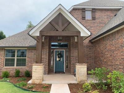 Edmond Single Family Home For Sale: 18508 Heritage Run Road