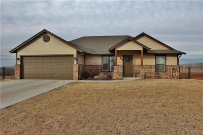 Blanchard OK Single Family Home For Sale: $157,000