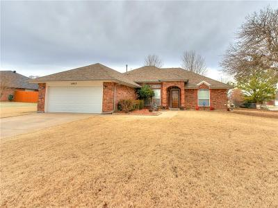 Choctaw Single Family Home For Sale: 14913 Twelve Oaks Drive