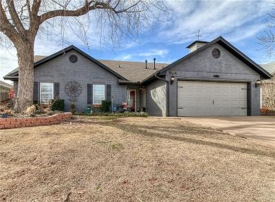 Edmond Single Family Home For Sale: 17609 Woodsorrel Road