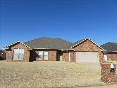 Altus OK Single Family Home For Sale: $219,000