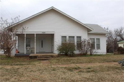 Chandler OK Single Family Home For Sale: $79,900