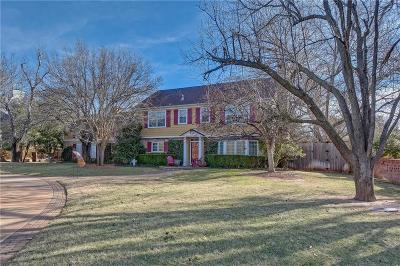 Nichols Hills OK Single Family Home For Sale: $1,400,000