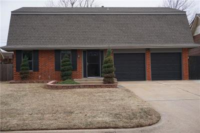 Midwest City Single Family Home For Sale: 1000 W Idylwild Drive