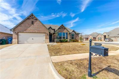 Edmond Single Family Home For Sale: 18817 Rush Springs Lane