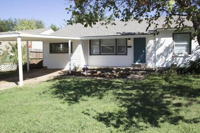 Midwest City Single Family Home For Sale: 311 E Jarman Drive