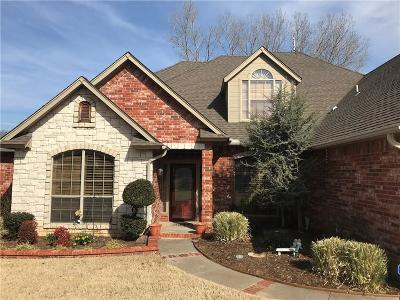 Midwest City Single Family Home Pending: 12423 Elizabeth Cove