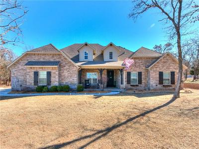 Edmond Single Family Home For Sale: 722 Breezy Hill Road
