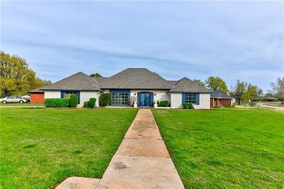Lincoln County, Oklahoma County Single Family Home For Sale: 9708 Lakeshore Drive