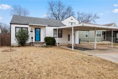 Midwest City OK Single Family Home Pending: $95,000