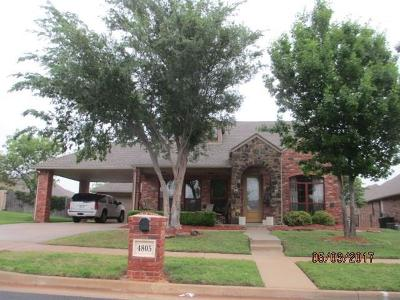Edmond Single Family Home For Sale: 4805 NW 160th Street