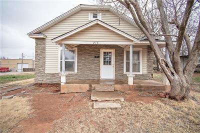 Elk City Single Family Home For Sale: 216 S Washington Street