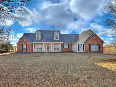 Mustang Single Family Home For Sale: 5401 Steeple Run Drive