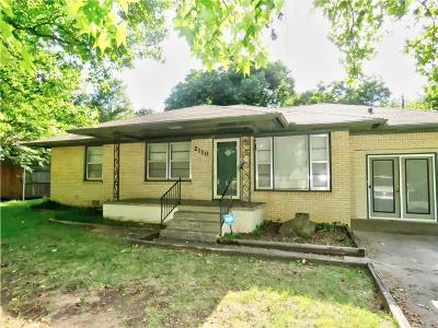 Shawnee Single Family Home For Sale: 2110 N Union Avenue