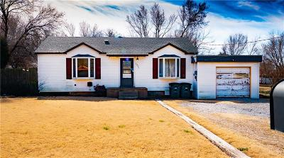 Del City Single Family Home For Sale: 3904 Thomas Drive