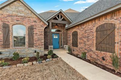 Mustang Single Family Home For Sale: 5604 Ledgestone Drive