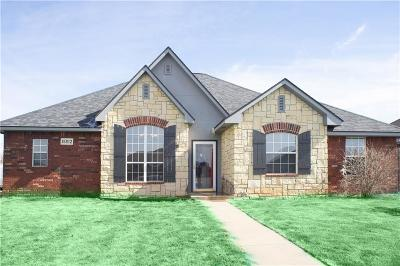 Edmond Single Family Home For Sale: 16012 Hardwick Road