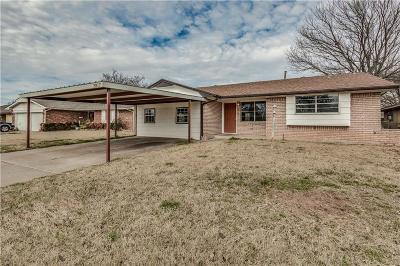 Oklahoma City Single Family Home For Sale: 2817 SW 87th Street