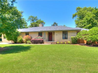 Norman Single Family Home For Sale: 1001 Brookside Drive