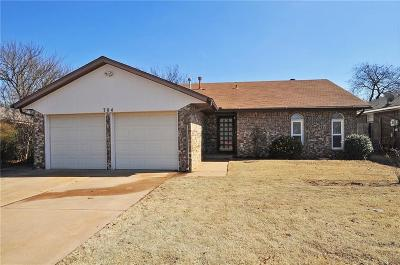 Moore Single Family Home For Sale: 704 N Patterson Drive