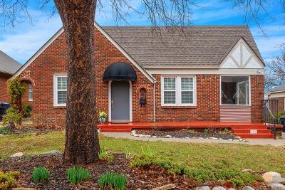 Oklahoma City Single Family Home For Sale: 521 NW Eubanks Street