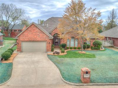 Midwest City Single Family Home Pending: 1244 Three Oaks Circle