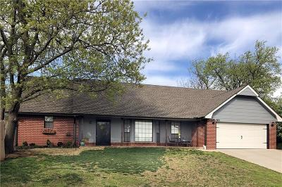 Edmond Single Family Home For Sale: 601 Knights Bridge Road