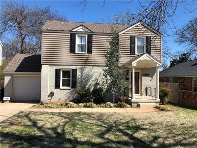 Oklahoma City Single Family Home For Sale: 4300 N Miller Avenue