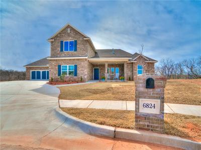 Edmond Single Family Home For Sale: 6824 Jay Crest Drive