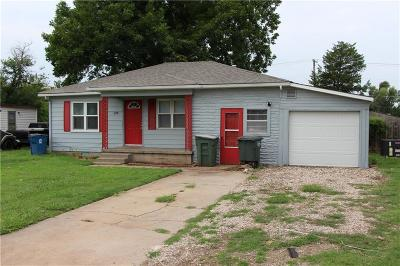 Edmond Single Family Home For Sale: 1119 N Boulevard Street
