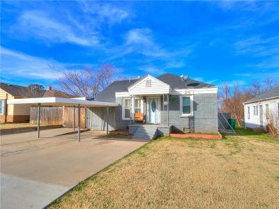 Oklahoma City Single Family Home For Sale: 3837 NW 24th Street