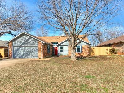 Edmond Single Family Home For Sale: 2117 Gebron Drive