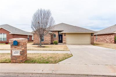 Moore Single Family Home For Sale: 4009 Red Apple Terrace