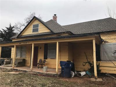 Guthrie Single Family Home For Sale: 502 S Walnut Street
