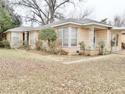 Chickasha Single Family Home For Sale: 801 W Kansas Avenue