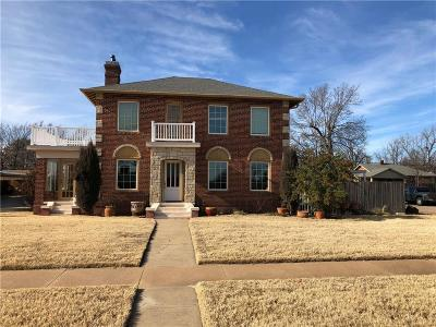 Cordell Single Family Home For Sale: 520 N College Street