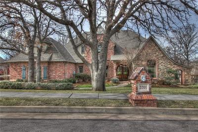 Edmond Single Family Home For Sale: 3701 Hunters Creek Road