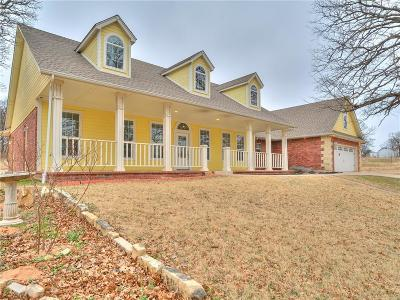 Luther Single Family Home For Sale: 15577 N Pottawatomie Road Road